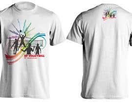 #14 untuk Design a T-Shirt for volleyball tournament oleh Bugz318