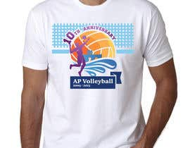 #26 for Design a T-Shirt for volleyball tournament af maximkotut