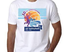 #26 untuk Design a T-Shirt for volleyball tournament oleh maximkotut