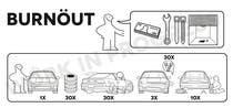Graphic Design Konkurrenceindlæg #2 for Shirt design parody of Ikea instruction man