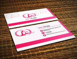 ghani1 tarafından Design some Business Cards for Spa için no 12