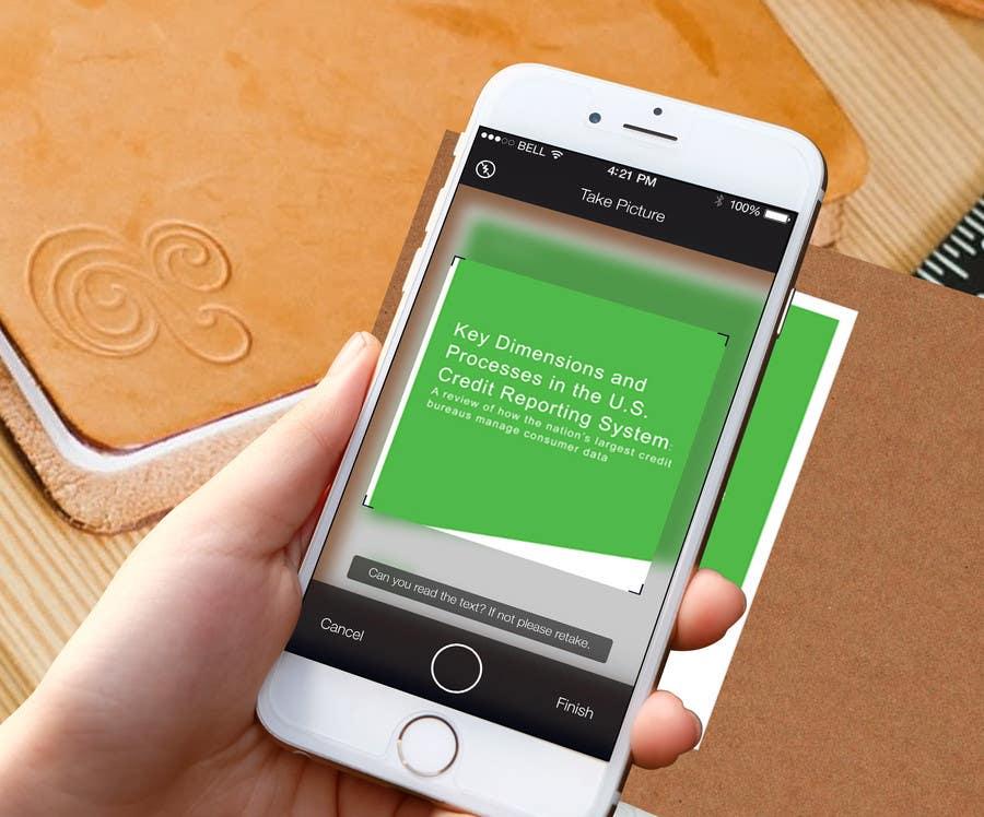 Kilpailutyö #3 kilpailussa Design a page for an App