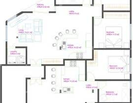 #30 para Two apartments design por heberomay