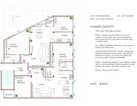 #33 para Two apartments design por shashi27177