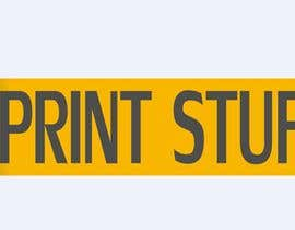 #44 cho Simple Logo for i Print Stuff bởi Tarikov