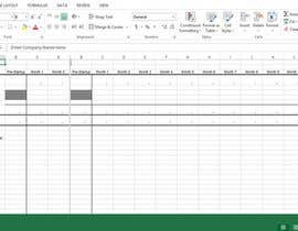 #2 untuk Design Excel cashflow forecast for my new business plan oleh mabbasalee