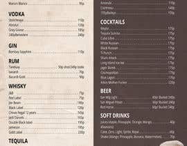 Nro 9 kilpailuun Design a drink menu for a bar käyttäjältä ryanmahendra