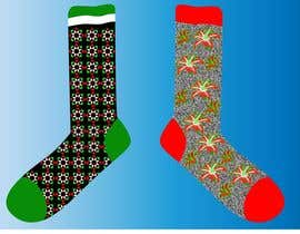 #40 untuk Sock Designs! Best 2 Designs (1 Male, 1 Female) Wins! oleh winkeltriple
