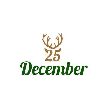 Penyertaan Peraduan #18 untuk Design a Logo for December 25