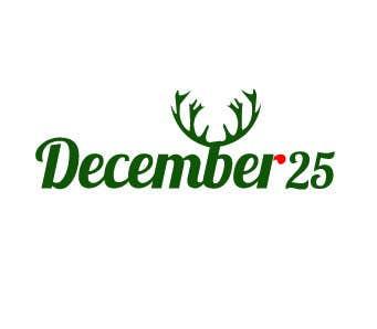 Penyertaan Peraduan #19 untuk Design a Logo for December 25