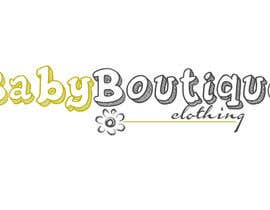 #55 untuk Design a Logo for baby boutique clothes website oleh stoilova