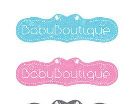 #66 untuk Design a Logo for baby boutique clothes website oleh AWAIS0