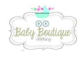 #83 for Design a Logo for baby boutique clothes website af shantallrueda