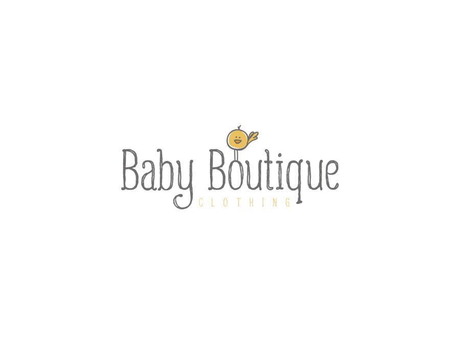 54c029b5a Entry  56 by Vanai for Design a Logo for baby boutique clothes ...