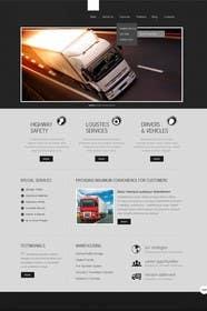 Nro 15 kilpailuun Transportation Website Design käyttäjältä Nihadricci