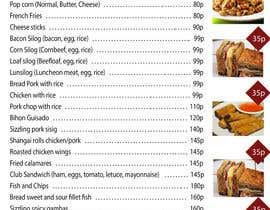 #25 for Design a food menu for a bar by toibantang