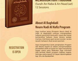 #2 cho Design a Flyer for Al Quran Memorisation Program bởi Gugunte