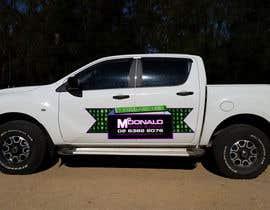 #40 cho Design our vehicle signage bởi pantal24
