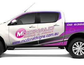 #36 cho Design our vehicle signage bởi pandi13