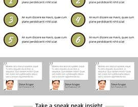 #4 untuk Design a Landing page for Advice book for natural cosmetics oleh SkylineServes