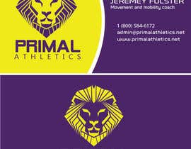 #34 untuk Design a business card with my logo and colours oleh Debabrata09