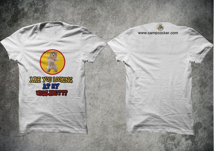 Kilpailutyö #5 kilpailussa Design a T-Shirt for animal rescue