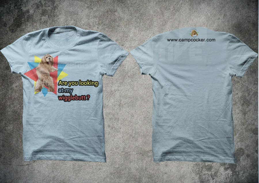 Kilpailutyö #27 kilpailussa Design a T-Shirt for animal rescue