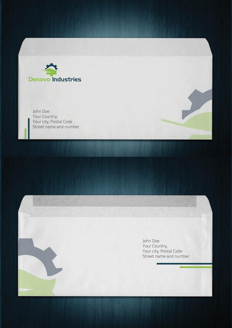 #60 for Develop a Corporate Identity for Denovo Industries by Olywebart