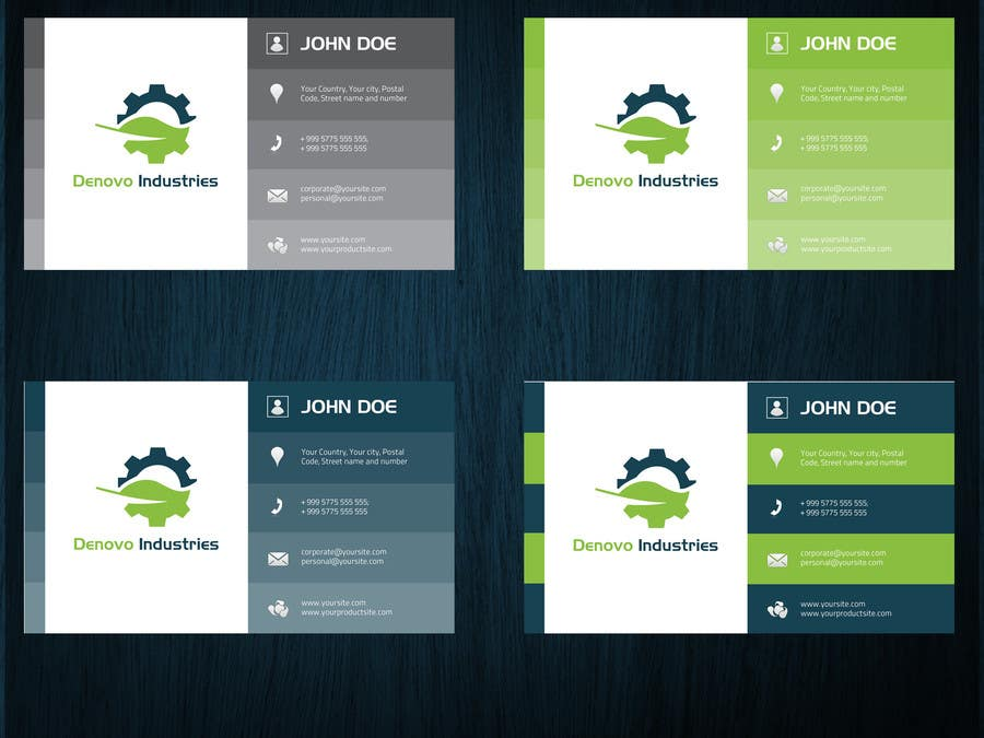 #68 for Develop a Corporate Identity for Denovo Industries by Olywebart