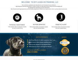indoweb tarafından Build a Website for Service Dog Training Website için no 24