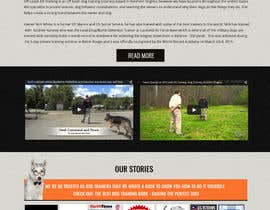 #19 for Build a Website for Service Dog Training Website by aayomiyadav
