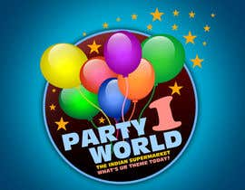 nº 18 pour Party1World needs a CORPORATE Identity LOGO. par GraphXFeature