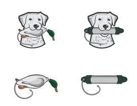 #38 para Design a Logo for Training Duck Hunting Dog Website por AWAIS0