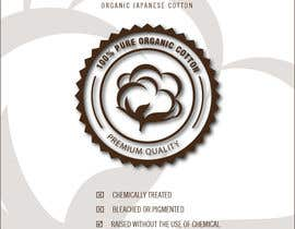 #25 for Create Print and Packaging Designs label for Organic Japanese Cotton af artemotion