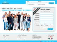 Graphic Design Contest Entry #9 for Graphic Design for Social Network Website sign up page