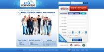 Graphic Design Natečajni vnos #36 za Graphic Design for Social Network Website sign up page
