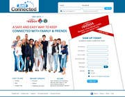 Graphic Design Natečajni vnos #55 za Graphic Design for Social Network Website sign up page