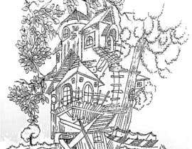 #4 for A Coloring Book of Tree Houses by Rahulbajad