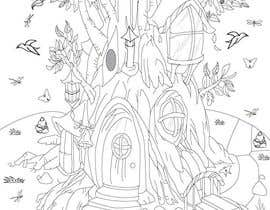 #9 for A Coloring Book of Tree Houses af squash0881