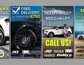 #9 for Design 4 Banners for Alloy Wheel Website af s04530612