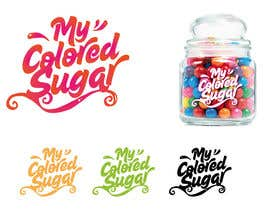 #187 para Design a Logo for Colored Sugar Business por marijoing