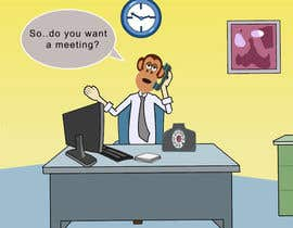 #11 for Create an Animation for a monkey booking a meeting af sagar007chauhan