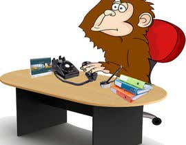 hamzahafeez2000 tarafından Create an Animation for a monkey booking a meeting için no 4