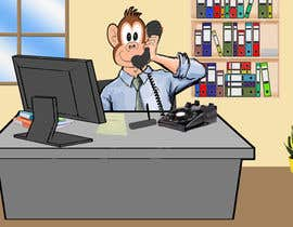 hamzahafeez2000 tarafından Create an Animation for a monkey booking a meeting için no 9