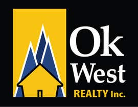 nº 47 pour Logo Design for OK WEST Realty Inc. par RollerAv