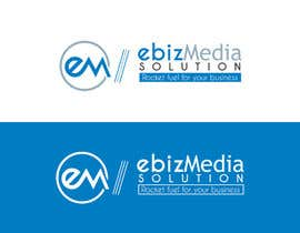 #38 para Design a Logo for ebiz Media Solution por gssakholia11