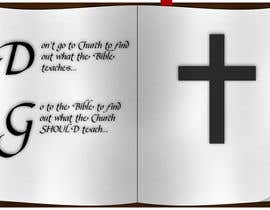 #5 for T-shirt design   9x12.75 Bible/Church af Tommy50