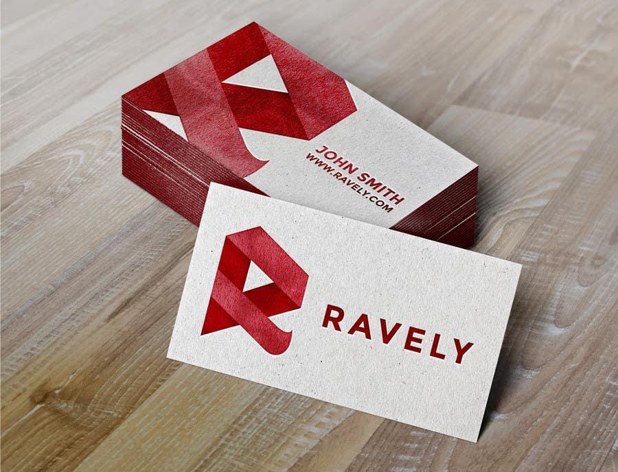 Konkurrenceindlæg #7 for Design some Stationery for Ravely