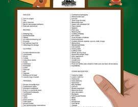 #3 untuk Design a Flyer for a Camping Checklist oleh hansa02