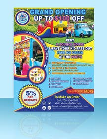 #40 cho Design a Flyer, Doorhanger, and Yard Sign for Party Rentals Company bởi gmorya